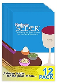 30minute-Seder 12 PACK<br/>Buy 10 - Get 2 FREE!